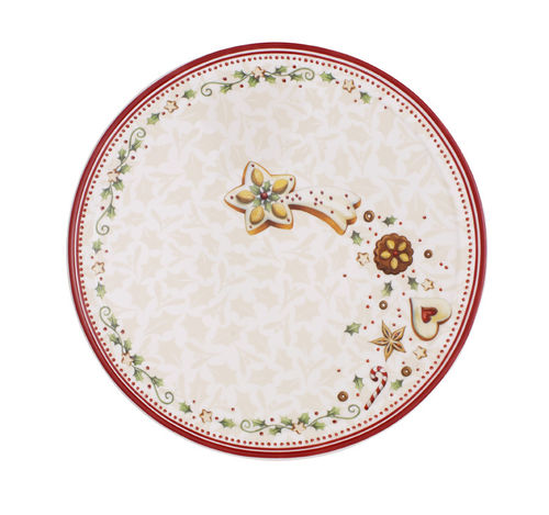 Snackteller rund 23,5cm Villeroy & Boch Winter Bakery Delight