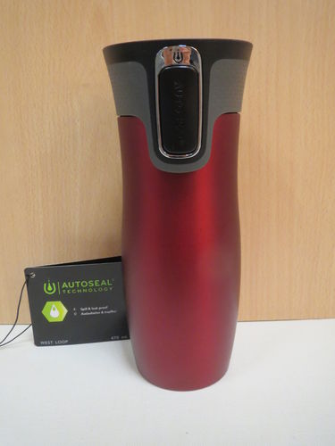 Isobecher Westloop 470ml - Contigo - Matt red